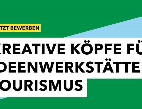 IDEENWETTBEWERB FÜR DEN TOURISMUS IN SACHSEN