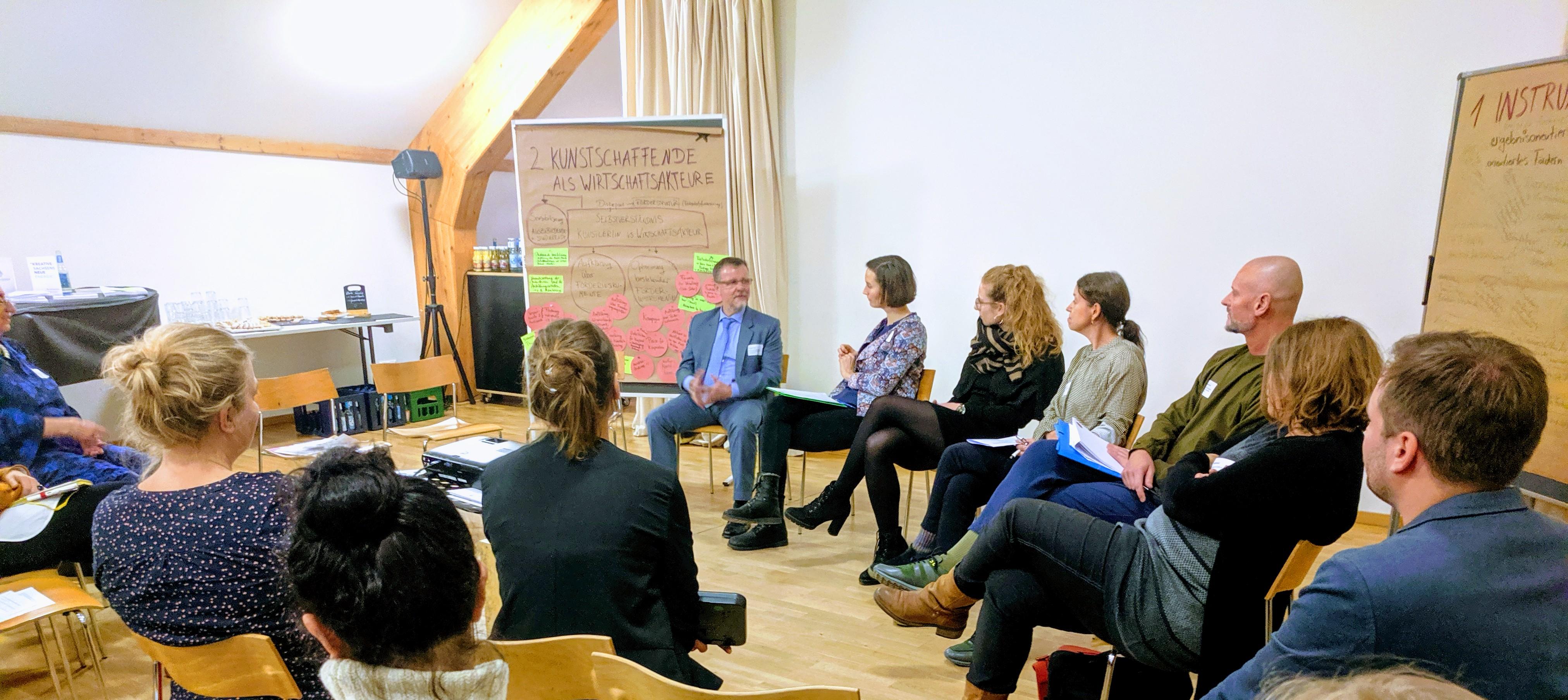 Forum zur Einkommenssituation freiberuflicher Künstler*innen