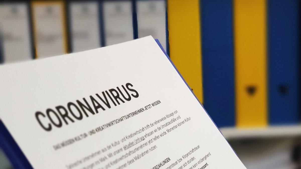 Pressemitteilung Kultur- und Kreativwirtschaft Coronavirus