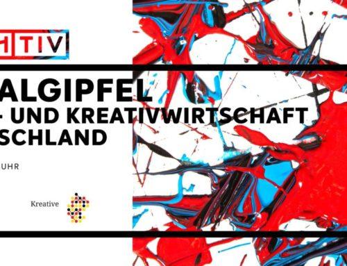 DIGITALGIPFEL KULTUR-UND KREATIVWIRTSCHAFT IN DEUTSCHLAND