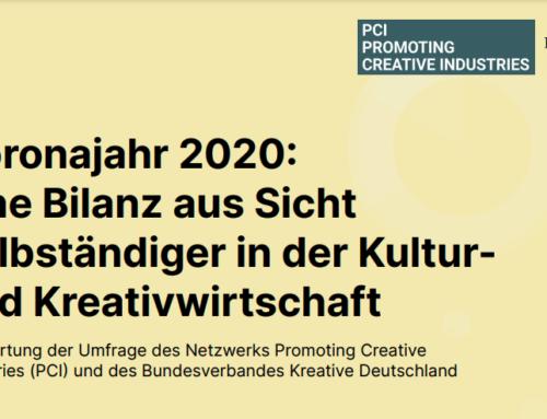 Umfrageergebnisse: Selbständige in der Kultur- und Kreativwirtschaft