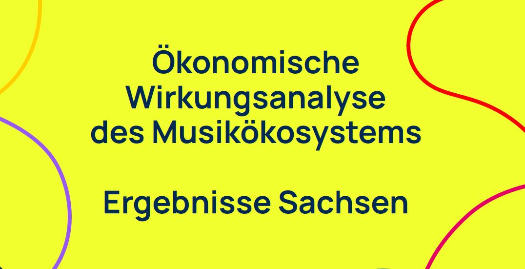 """Studie """"Wert der Musik"""" / Auszug Sachsen"""